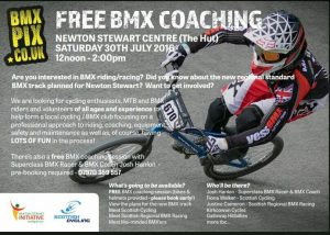 BMX Coaching Session