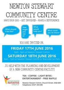 Community Centre 17th 18th June 2016